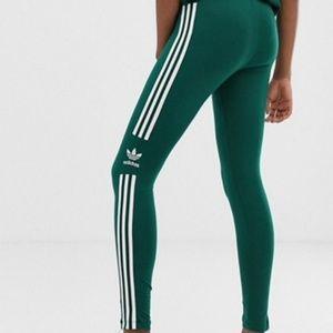 NWT Adidas Original Three Stripe Logo Leggings XS